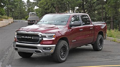 Dodge Ram Rebel 2020 by 2020 Ram Rebel Trx Test Mule Spied With A Shrieking Hellcat V8