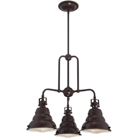 hanging 3 light cluster pendant for fitting to sloping