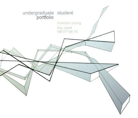 12009 undergraduate architecture student portfolio exles undergraduate student portfolio by brandon