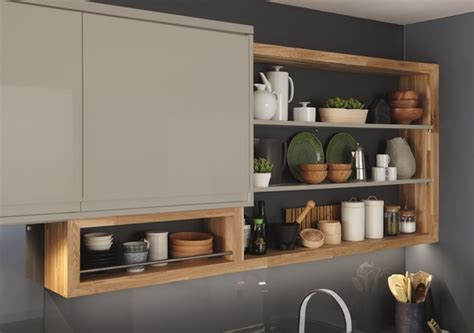 Clerkenwell Gloss Grey Kitchen  Contemporary Kitchens