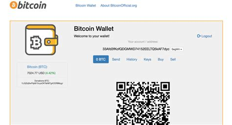 Get the latest bitcoin news in your inbox. BitcoinOfficial.org: How To Get Bitcoin Wallet Address? » CoinFunda