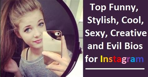 funny cool stylish instagram bios
