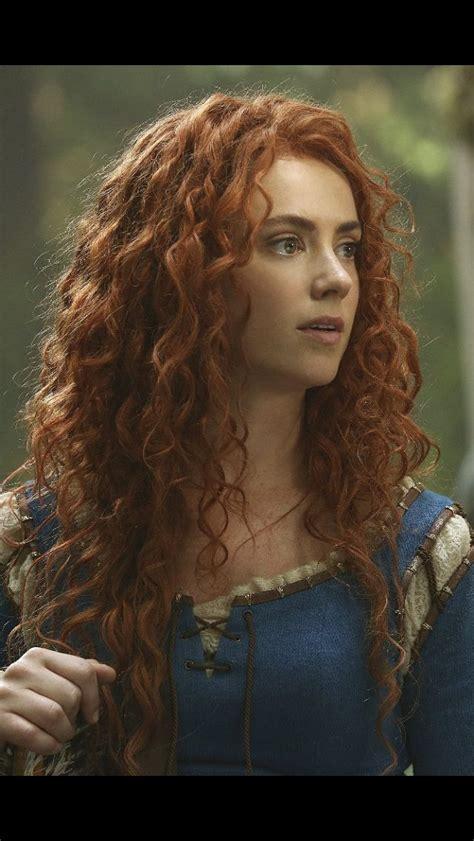 Merida. Once Upon A Time Season 5 | Fregner, Rødt hår, Piger