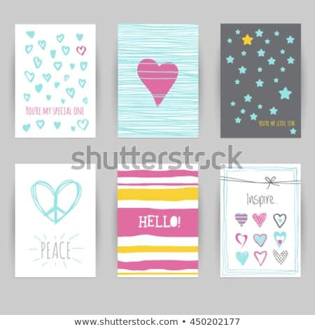Greeting Card Birthday Invitation Card Confetti Stock