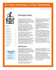 6 school newsletter templates free word pdf format download free premium templates With free editable newsletter templates for word
