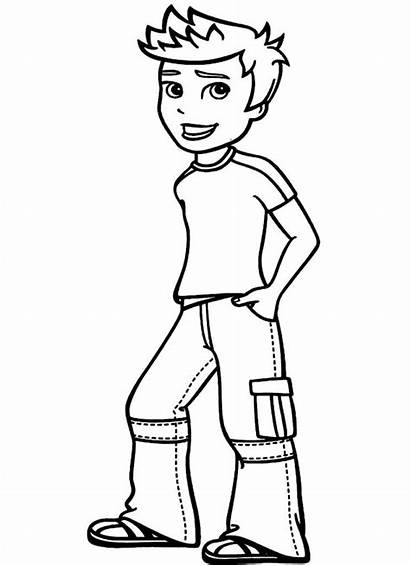 Pages Coloring Denis Daily Template Roblox Printable