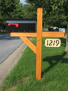 Wood Mailbox Post Designs Unique Hardscape Design