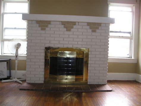 1914 Foursquare Brick Fireplace Restoration The Original