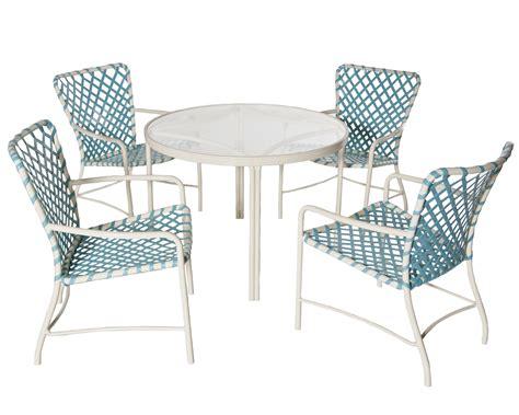 iconic outdoor furniture tubular aluminum  vinyl