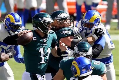 Eagles Philadelphia Fans Stands Stadium Rams Vs