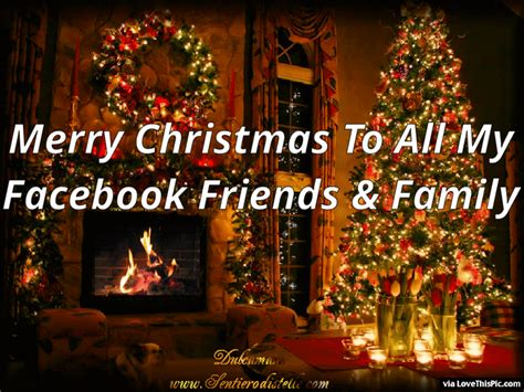 facebook friends  family merry christmas pictures