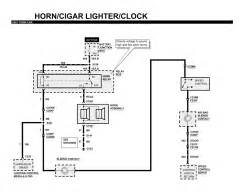 repair guides horn cigarette lighter clock 2001 With cigar lightercar wiring diagram page 16