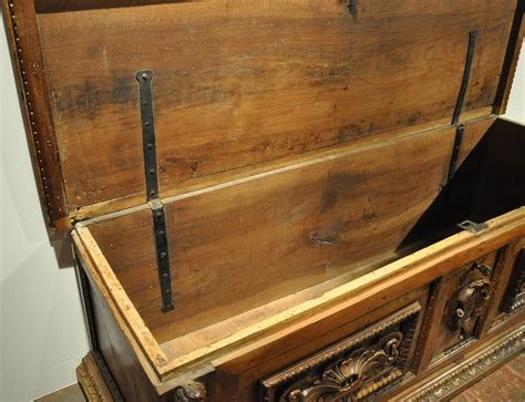 Antique 18th C. Carved Walnut Italian Trunk Cassone Blanket Chest At 1stdibs How To Make A Fort With Only Blankets And Pillows Horse Blanket Waterproofing Spray Electric Cover Luxury Plush Boucle Throw Winnie The Pooh Comforter Sound Absorption Hbc Coat