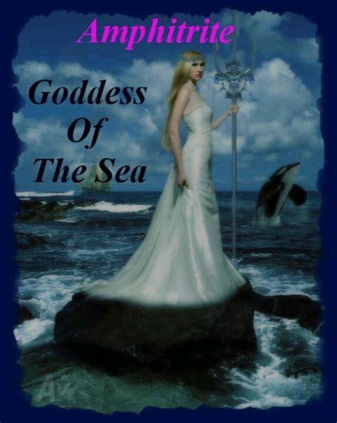 amphitrite poseidon greek gods goddess sea goddesses wife mythology water roman percy jackson nereid godesses nymphs tattoo costumes ancient queen