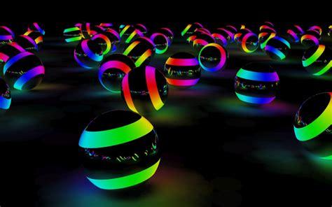 rainbow lighting balloons desktop wallpapers 1680x1050