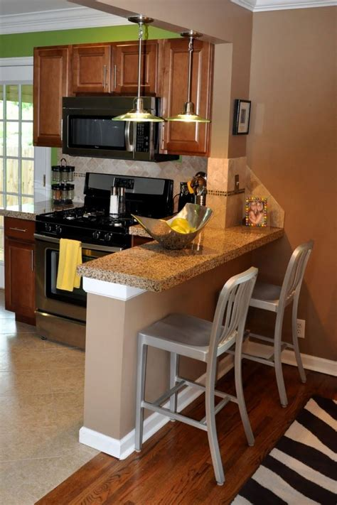 small kitchen bar table ideas best 25 small breakfast bar ideas on small