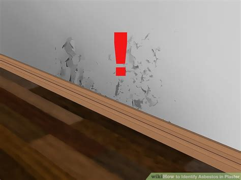 identify asbestos  plaster  pictures wikihow