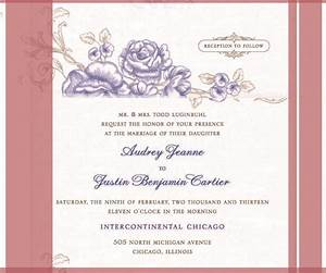 free wedding invitation samples 21goweddingcom With sample of wedding invitation video
