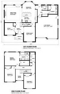 harmonious two storey house plan canadian home designs custom house plans stock house