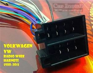 Vw Radio Wire Harness Install Stereo Plug 1980