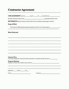 contractors agreement template general contractor contract With general contractors contract template