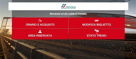 Mobile Trenitalia by Il Nuovo Sito Di Trenitalia Ottimizzato Per Mobile