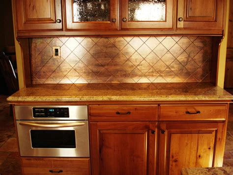 Metal Backsplash Sheets : 9 Eye-catching Backsplash Ideas For Every Kitchen Style