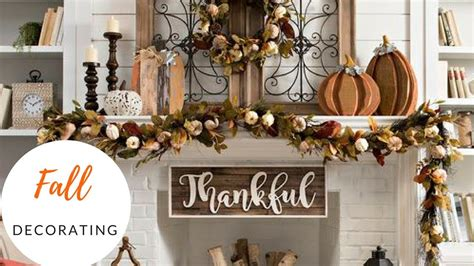 Thanksgiving Decorating For The Home  Fall 2017 Home