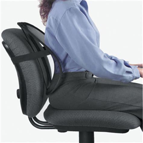 coussin ergonomique pour chaise de bureau cale dos pour siège de bureau prévient le mal de dos