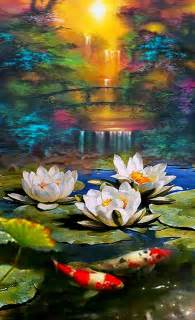 home decor lovely paintings  canvas    oil