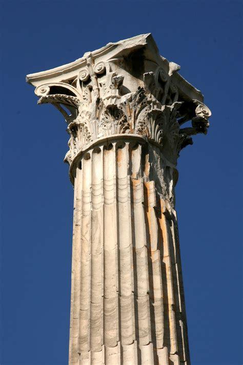 Filecorinthian Column Of The Temple Of Zeus In Athensjpg