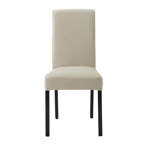 housse de chaise maison du monde housse de chaise en coton mastic margaux maisons du monde