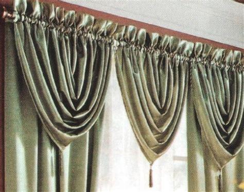 aprender a confeccionar cortinas como hacer una cenefa cascada con flecos laterales