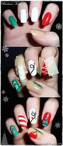 Easy Christmas Nail Art Tutorials 2013/ 2014   X mas Nails ...