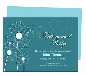 free printable retirement party invitations theruntimecom With free templates for retirement invitations