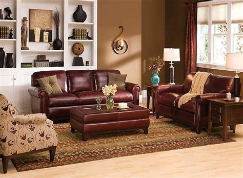 Living Room Ideas With Maroon Carpet by 20 Inspirations Burgundy Leather Sofa Sets Sofa Ideas