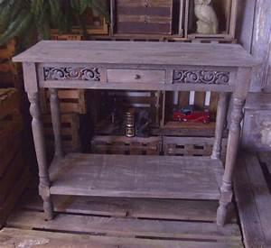 Konsolentisch Antik : konsolentisch mit schublade 1m breit holz antik ~ Pilothousefishingboats.com Haus und Dekorationen