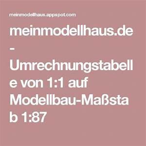 Maßstab Berechnen Modellbau : umrechnungstabelle von 1 1 auf modellbau ma stab 1 87 modellbahn ~ Themetempest.com Abrechnung