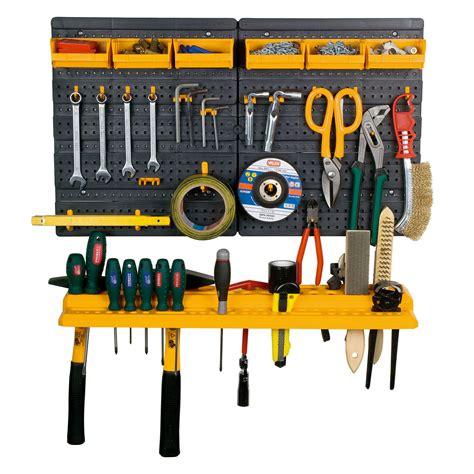 Garage Tool Rack Wall Kit Mini Storage Tools Organizer