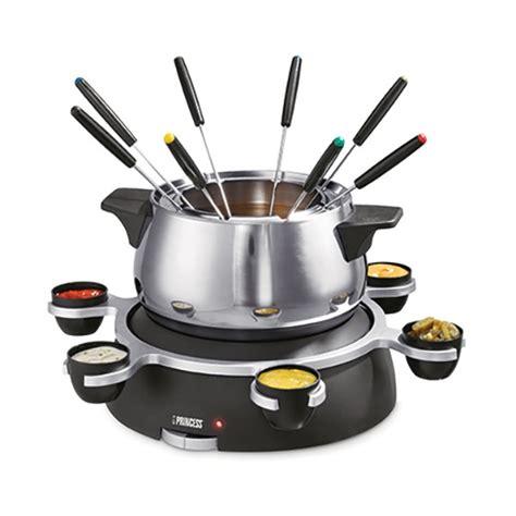 appareil cuisine conviviale appareil à fondue princess 8 personnes 1500 w raclettes