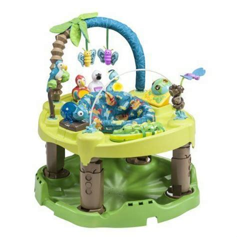 baby exersaucer evenflo toys fun triple active centre exercise learning activity center amazon babies walmart toddler saucer toy jumper age