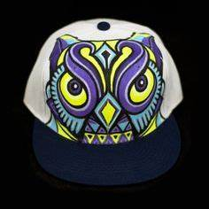 1000 images about Animal Hand Painted Snap Back Hats on