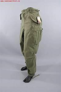 Men's Clothes 1950s Vintage US Army Pants / M-1951 Cold ...