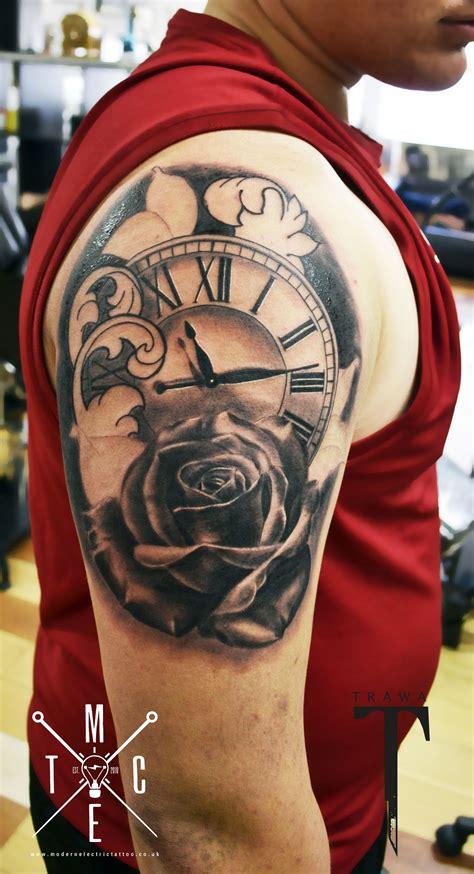 pocket  rose tattoo clock rose tattoo tattoos pinterest tattoo clock  tattoo
