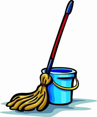 Mop Broom Clip Clipart