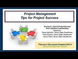 Project Management: Tips for Project Success Part 3 ...