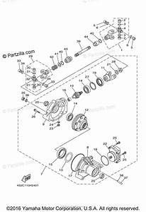 Yamaha Atv 2009 Oem Parts Diagram For Front Differential