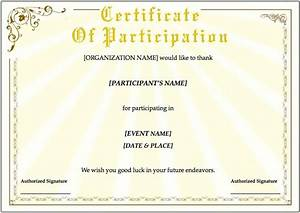 training certificate template for pages free iwork templates With certificate templates for pages