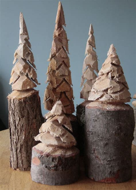 cool nordic thoughts chainsaw carved pine trees