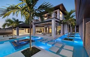 outdoor design trend 23 fabulous concrete pool deck ideas With amenagement exterieur maison moderne 7 plans agencement et 3d pour construction maison atdeco
